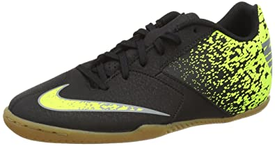 quality design 41234 1c2d3 Nike Bombax IC, Chaussures de Football Homme, Noir (Black Cool Grey