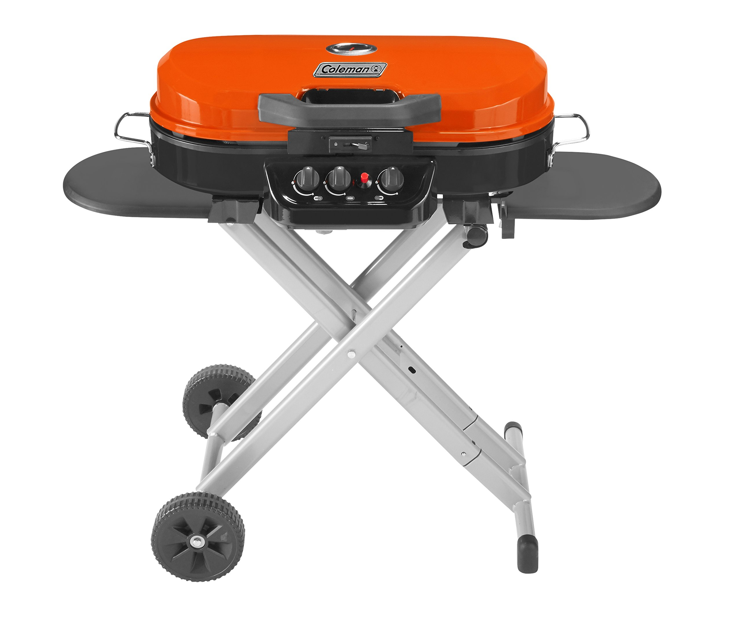 Coleman RoadTrip 285 Portable Stand-Up Propane Grill, Orange by Coleman