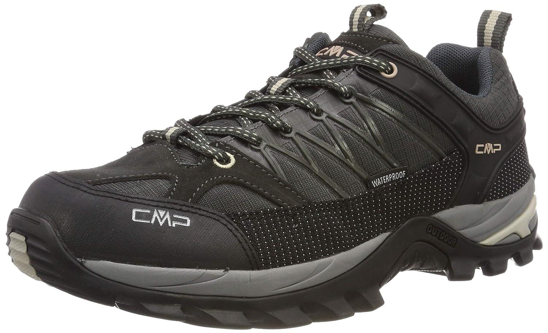 Marron (Arabica-sand 69bm) 42 EU CMP Rigel Faible, Chaussures de Randonnée Basses Homme