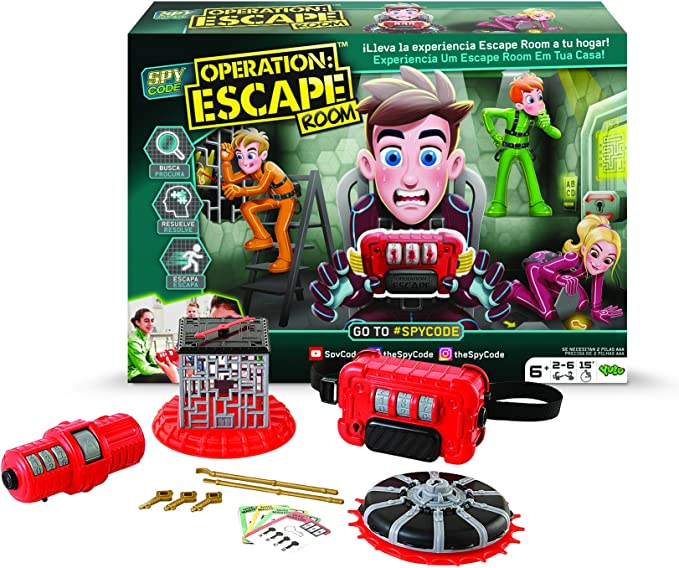 Diset - Operation Escape Juego, Multicolor, 407634: Amazon.es: Juguetes y juegos