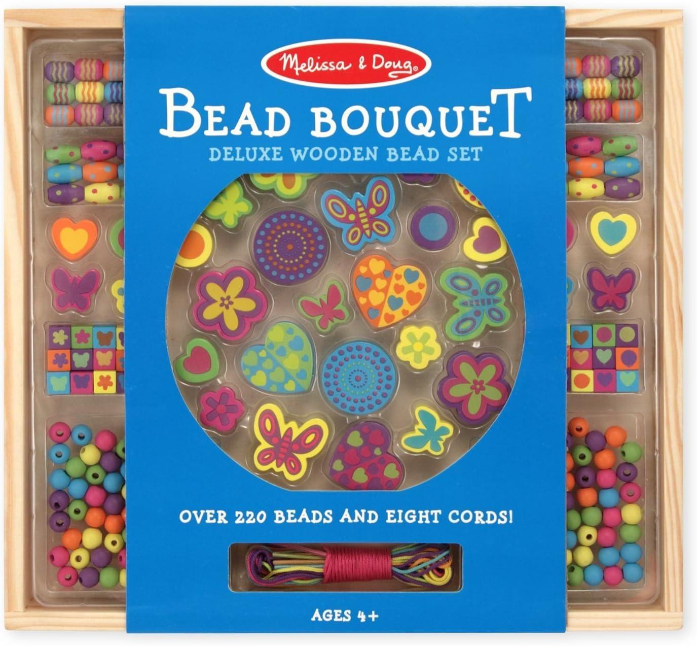 Kit perle de bois Melissa & Doug en promotion