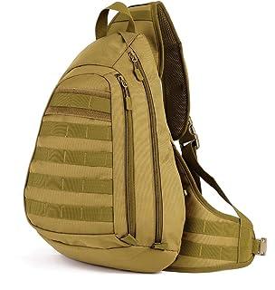 Brilliant High Quality Waterproof Nylon Men Cross Body Messenger Shoulder Bag Riding Military Assault Male Sling Chest Day Back Pack Home