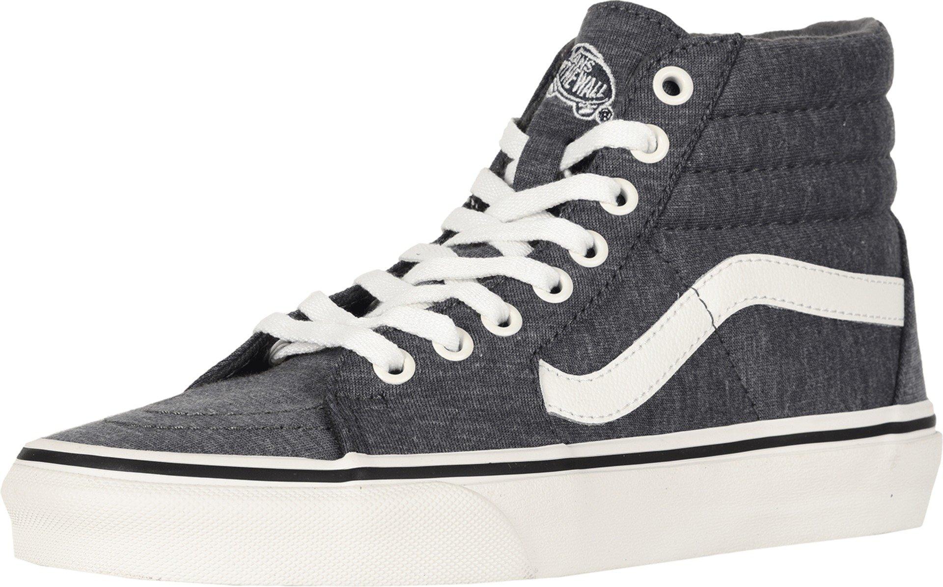 Vans Womens Jersey SK8-Hi Gray/Snow White Sneaker - 6