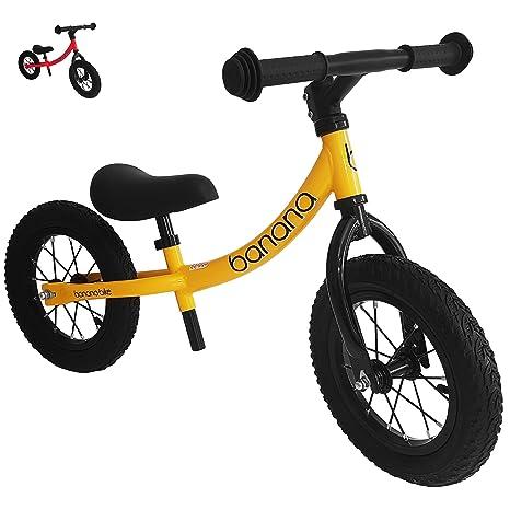 Banana Bike Gt Bicicletta Senza Pedali Per Bambini 2 3 4 E 5 Anni Di Età Giallo