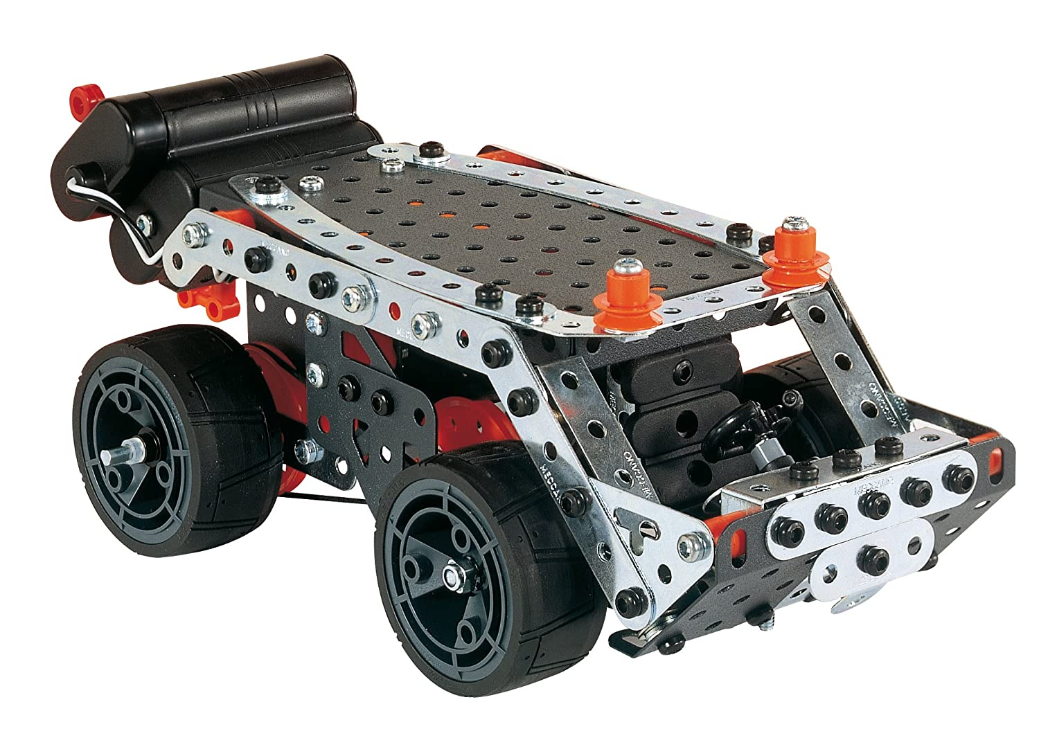 Buy Meccanoerector Motorized Super Contruction Set 640 Piece Motor Reversing Switches Electronics In Meccano Metal Assorted Sets Online At Low Prices India