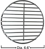 Grill Valueparts REV6IN 304 Stainless Steel High Heat Charcoal Fire Grate for Large and Medium Big Green Egg Grill. Dia 6.6 Inches
