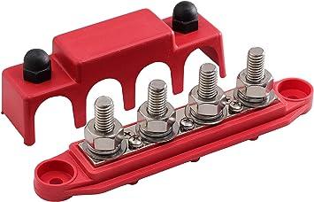 Lightronic 12V DC 20 Amp On//Off Rocker Switch IP65 Waterproof Auto Boat 3P SPST Rocker Toggle Switch 10Pcs, Red