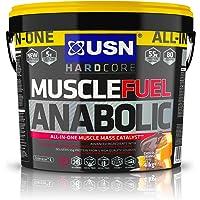USN Muscle Fuel Anabolic Muscle Gain Shake Powder, Chocolate Orange, 4 kg