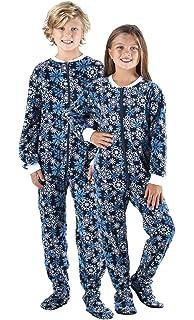 Amazon.com  SleepytimePjs Infant   Kids Red Fleece Onesie PJs Footed ... 8f2d545d2