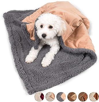 Amazon.com: Pawsse Manta para perro, súper suave, mantas y ...