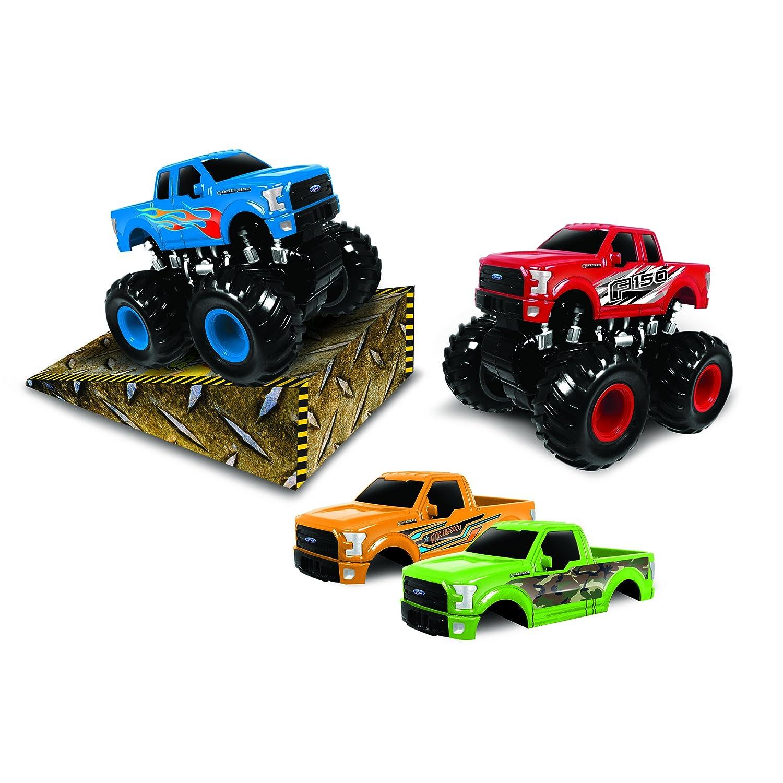 sc 1 st  Amazon.com & Amazon.com: JAMN Products Ford Monster Maniacs Playset: Toys u0026 Games markmcfarlin.com