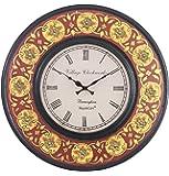 RoyalsCart Painting Analog Wall Clock, Multi