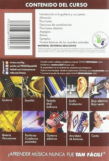 virtuosso Acoustic Guitar Method Vol. 1 (curso de guitarra ...