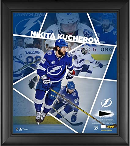 Nikita Kucherov Tampa Bay Lightning Framed 15 quot  x 17 quot  Impact  Player Collage with a b33845fd0