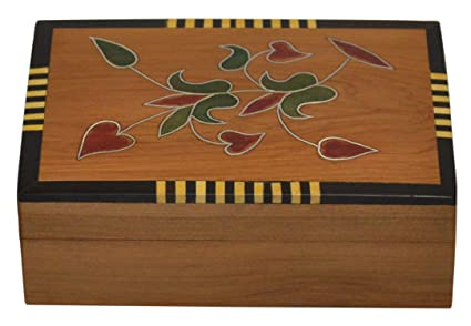 Boxes Jewelry Box Great Thuya Wood Locked With key Hand-made in Morocco thuja