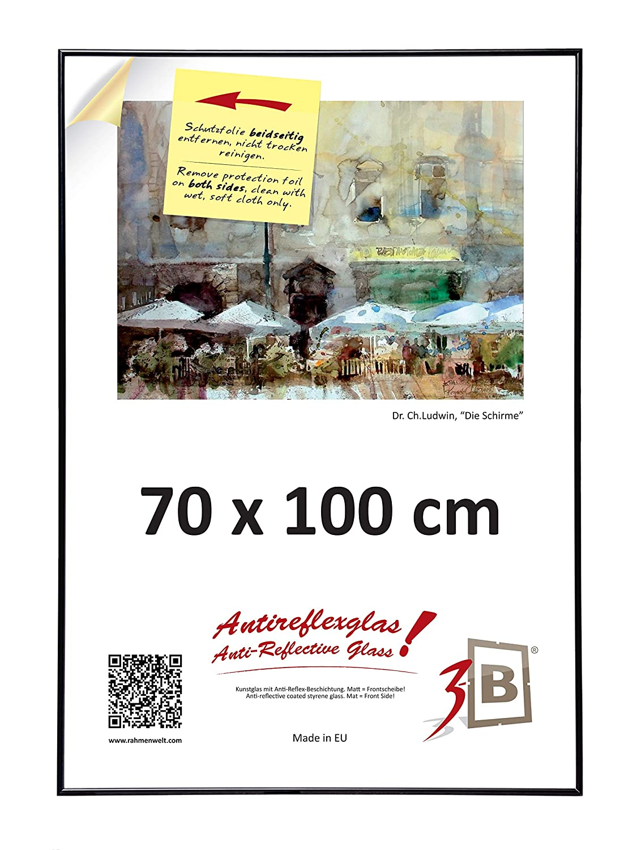 Amazon.de: 3-B Poster - Großer Bilderrahmen - mit LUMEX® A-PET ...
