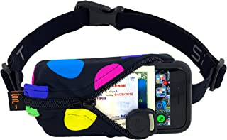 product image for SPIbelt Running Belt Original Pocket, No-Bounce Waist Bag for Runners Athletes Men and Women fits iPhone and Android Phones (Multi, One Size)