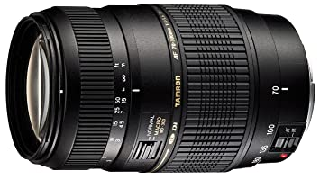 Tamron Auto Focus 70 300mm f/4.0 5.6 Di LD Macro Zoom Lens for Canon Digital SLR Cameras  Model A17E   International Model  No Warranty Lenses