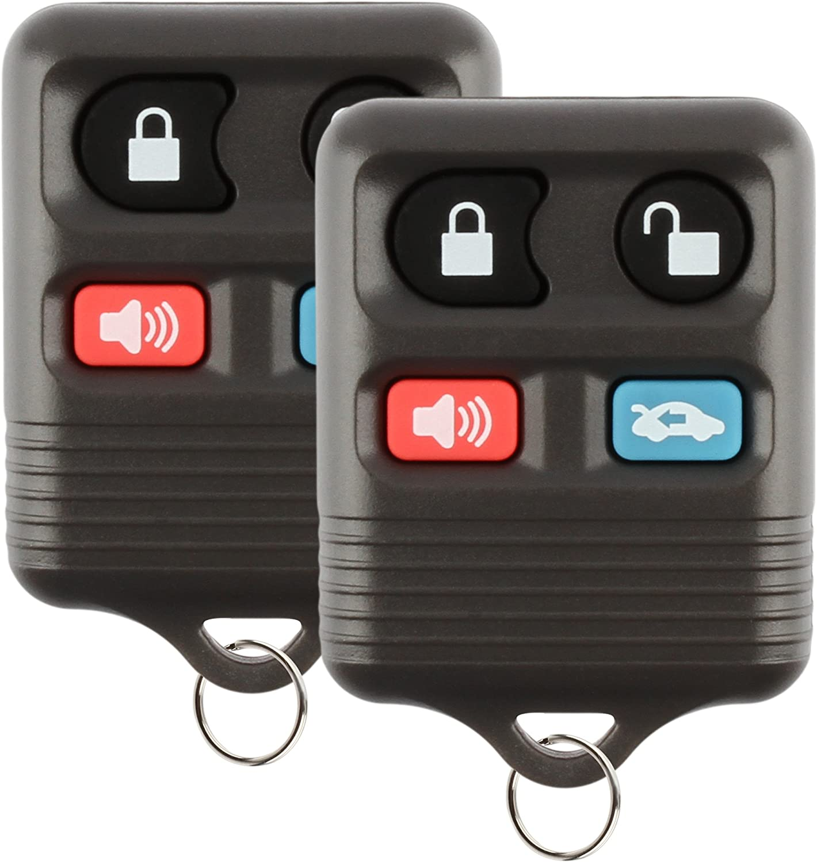 Discount Keyless Replacement Key Fob Car Remote For Crown Victoria Marquis Continental Mark VIII CWTWB1U311 2 Pack CWTWB1U313