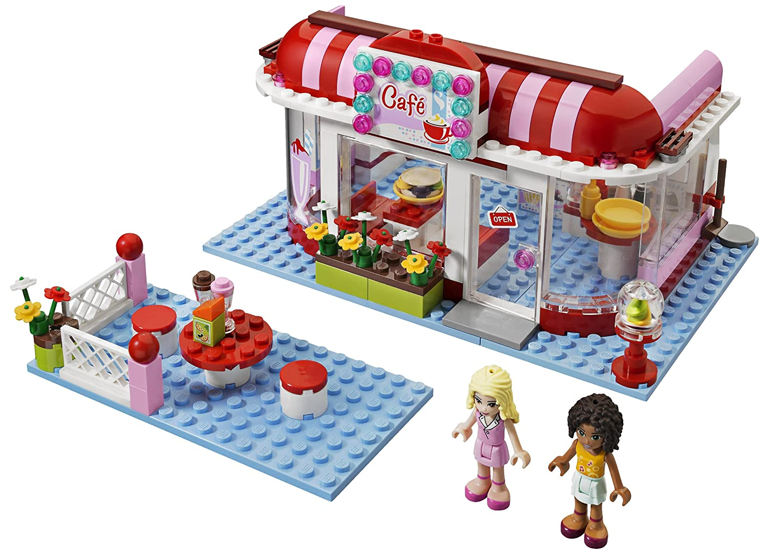 Amazoncom Lego Friends City Park Cafe 3061 Discontinued By