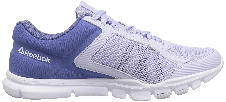 Reebok Women's Yourflex Trainette 9.0 MT Cross-Trainer Shoe B01MSYULPF 7.5 B(M) US|Lilac Shadow/Lucid Lilac/White