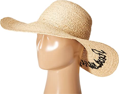 Hat Attack Women s The Rolling Stones Start Me Up Sun Hat Natural ... 5b58c7d2d44c