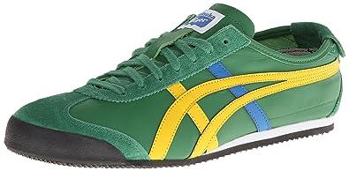 Onitsuka Tiger Mexico 66 Sneaker Amazon Green Ye: Amazon