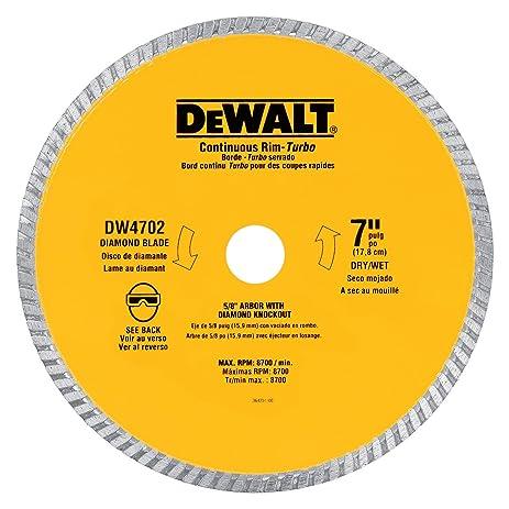 Dewalt dw4704 industrial 12 inch dry cutting continuous rim dewalt dw4704 industrial 12 inch dry cutting continuous rim diamond saw blade with 1 greentooth Images