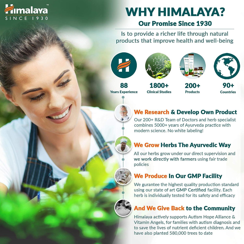 Himalaya Herbals Sparkly White Pasta de dientes a base de hierbas * Obtenga dientes más blancos en 2 semanas * Eliminación avanzada de placa, no ...