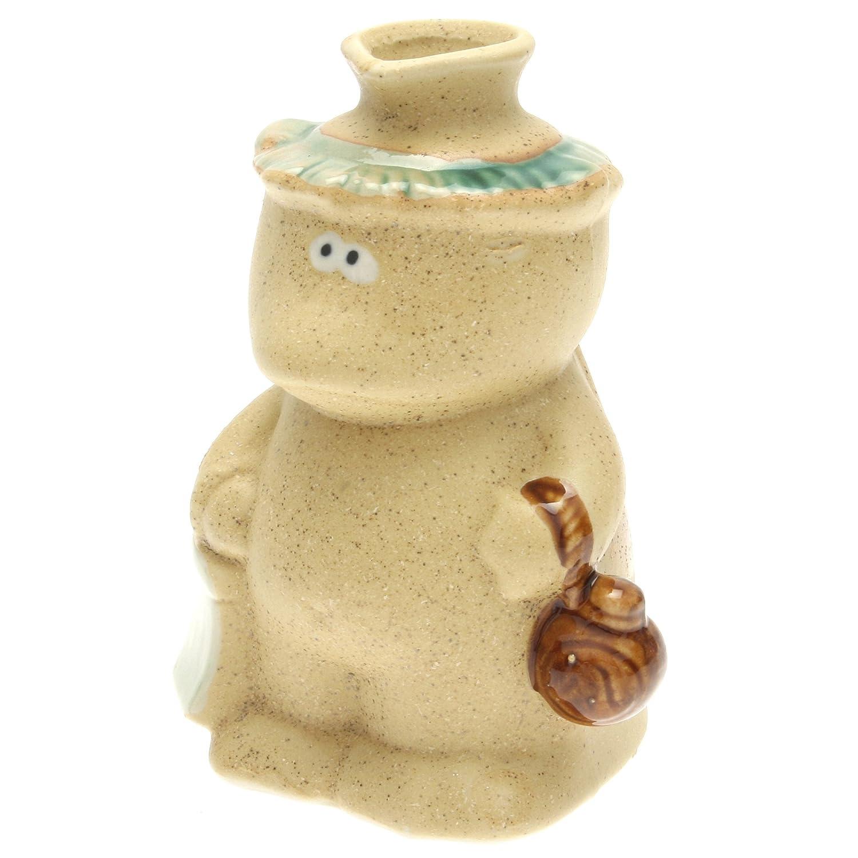 Kotobuki Kutani Sake Bottle:Pourer/Vase Kappa 121-160