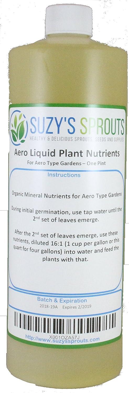 Liquid Plant Food for Aero Type Gardens (1 Pint)