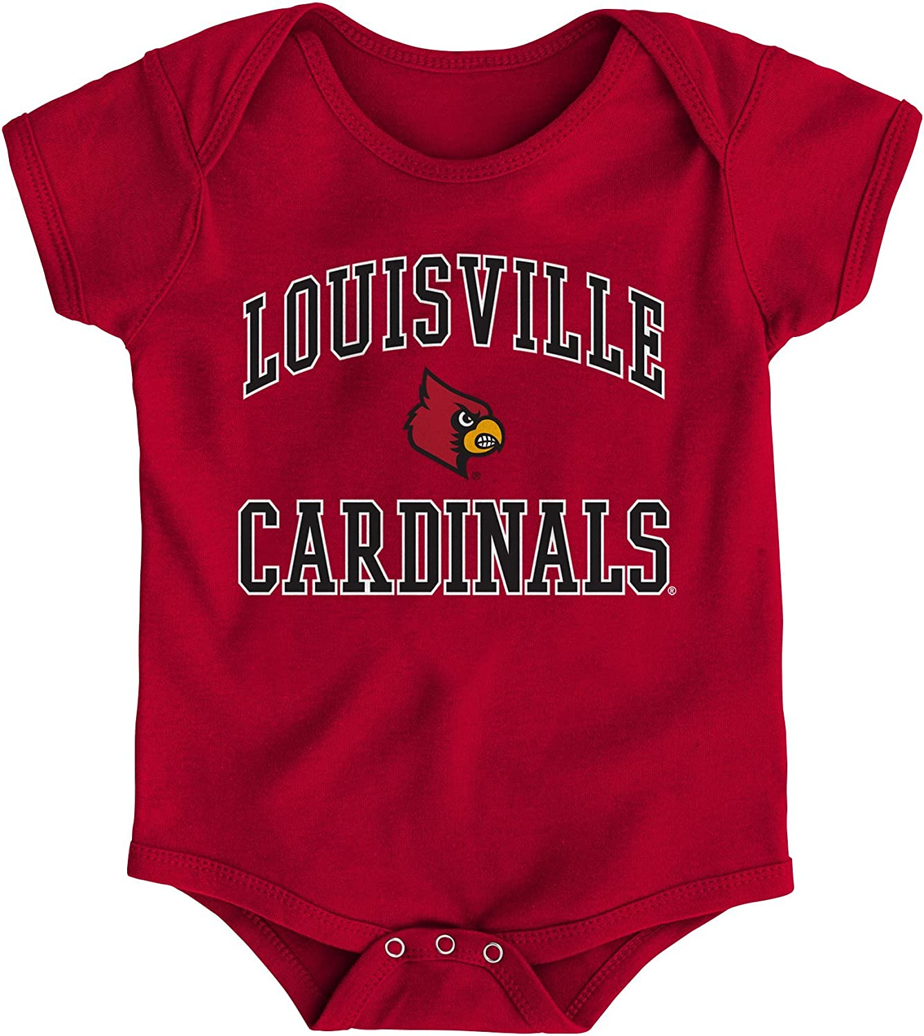 Gen 2 NCAA Unisex-Child Newborn /& Infant Primary Logo Bodysuit