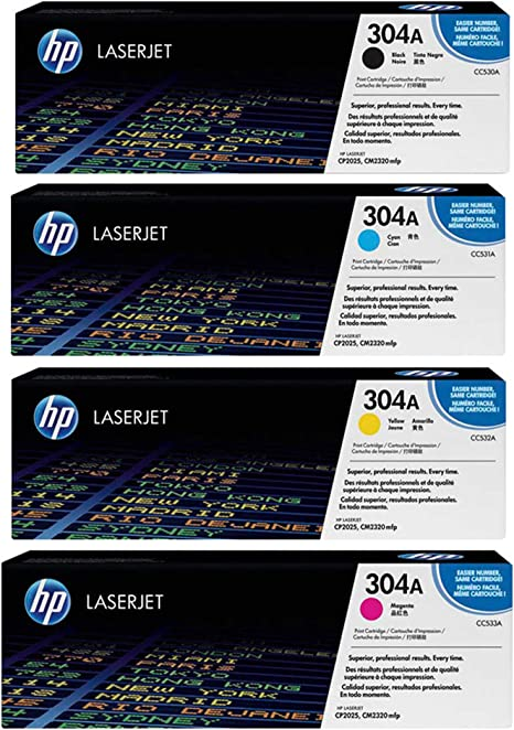 GENUINE HP 304A Magenta Toner CC533A Color LaserJet CP2025 CM2320 mfp NEW