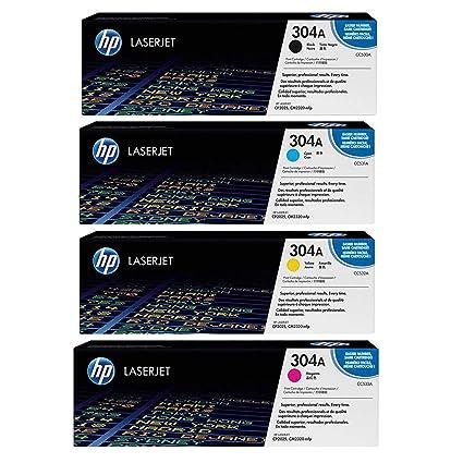 HP - Juego de cartuchos de tóner para impresoras Lj Cp2025 ...
