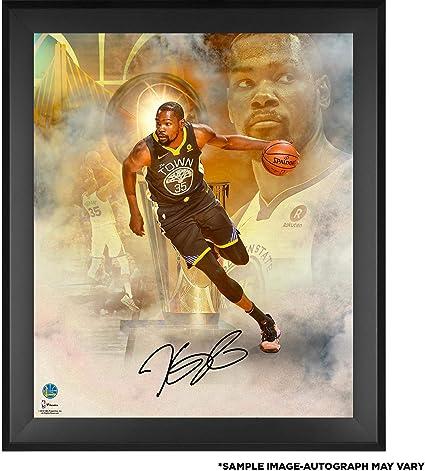 Kevin Durant Golden State Warriors Framed Autographed 20 quot  x 24 quot  2018  NBA Finals Champions ca5f664d3