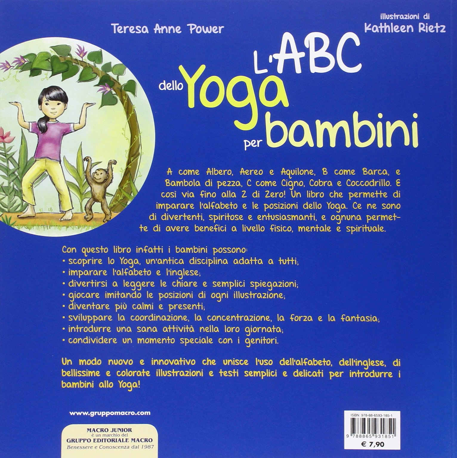 LABC dello yoga per bambini. Ediz. illustrata: Amazon.es ...