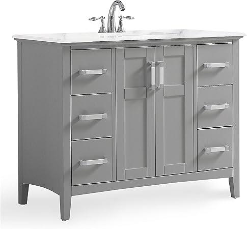 Simpli Home Winstonwg 42 Winston 42 Inch Contemporary Bath Vanity
