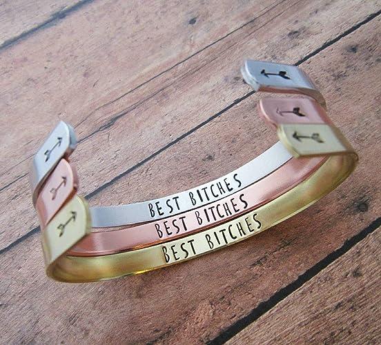 Best Bitches Bracelet Friends Matching Bracelets Friend Jewelry Birthday Gift For