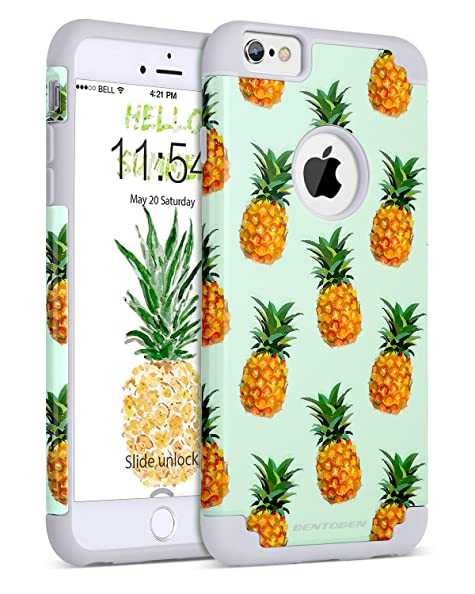 iphone 6 case silicone pineapple