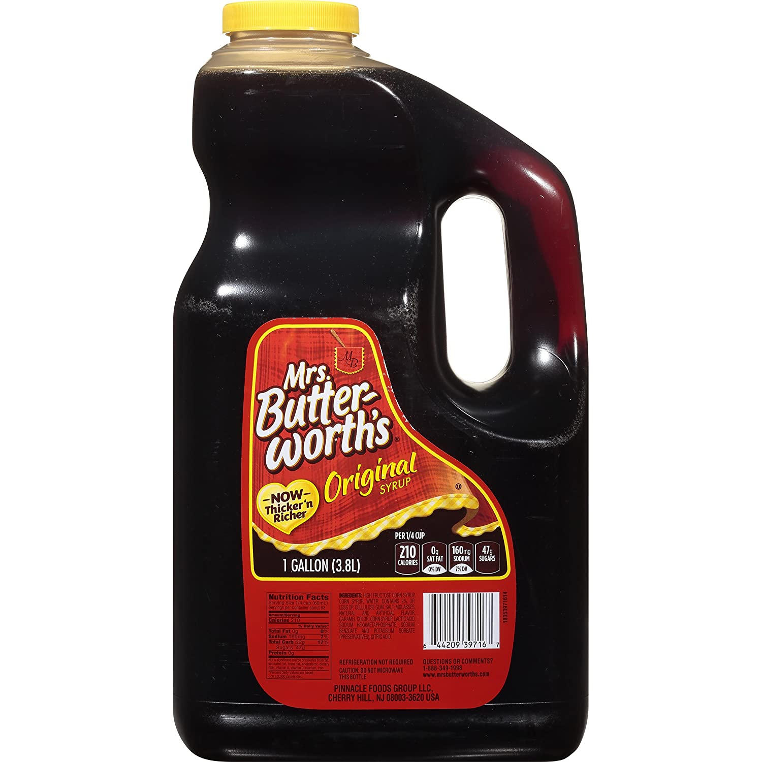 Mrs. Butterworth's Syrup, Original, 128 Fl Oz