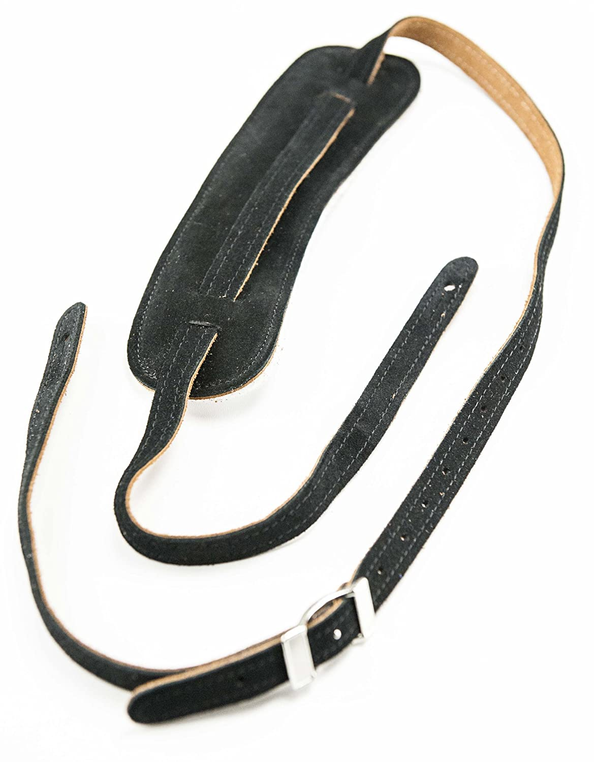 Perris Leathers CBSS-202 Vintage Suede Guitar Strap with Pad Perris Leathers LTD