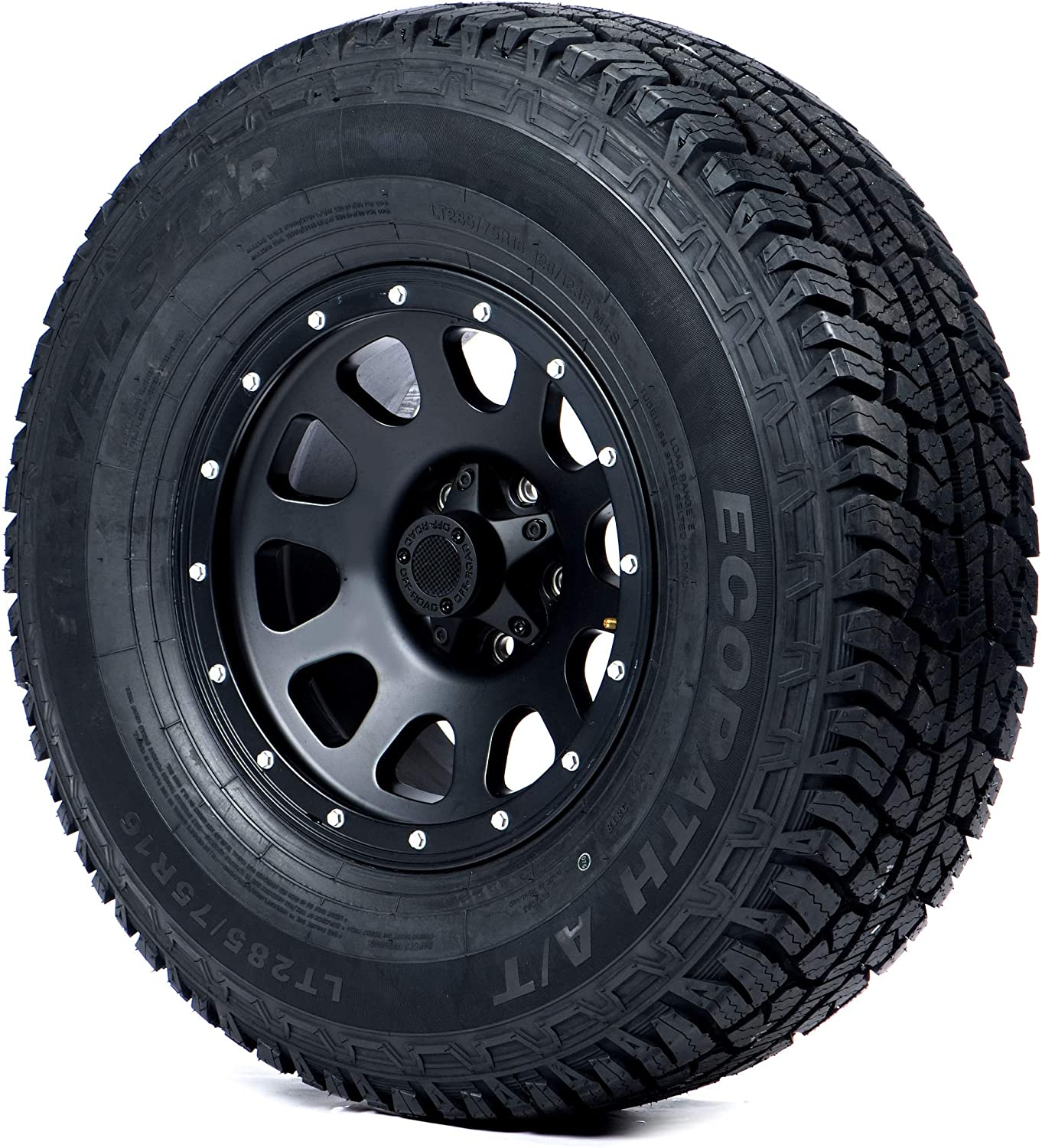 Travelstar EcoPath A/T All- Terrain Radial Tire-LT245/75R17 121S 10-ply