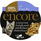 Encore Cat Food Pot Finest Chicken Breast with Tuna Roe, 60g, Pack of 10