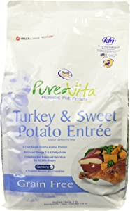 Nutri-Source Pure Vita Grain-Free Turkey And Sweet Potato Dry Dog Food, 5 Pound Bag