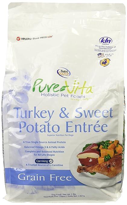 Amazon Nutri Source Pure Vita Grain Free Turkey And Sweet