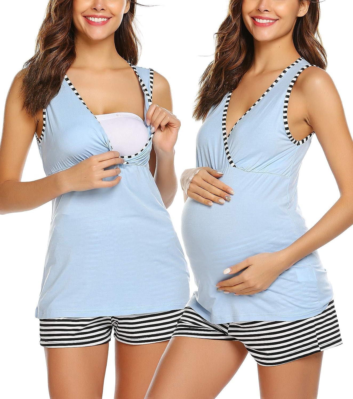 UNibelle Camis/ón de lactancia para mujer tallas S-XXL