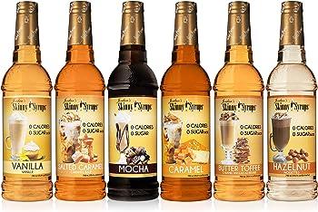 Jordan's Skinny Healthy Flavors For Keto Diet Coffee Syrup
