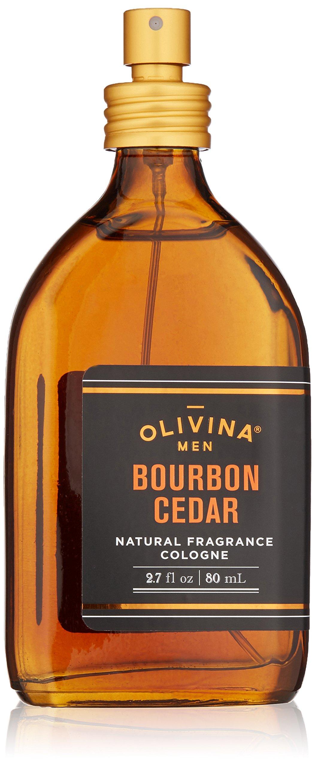 Olivina Men Natural Fragrance Cologne In Wood Box, 2.7 Fluid Ounce
