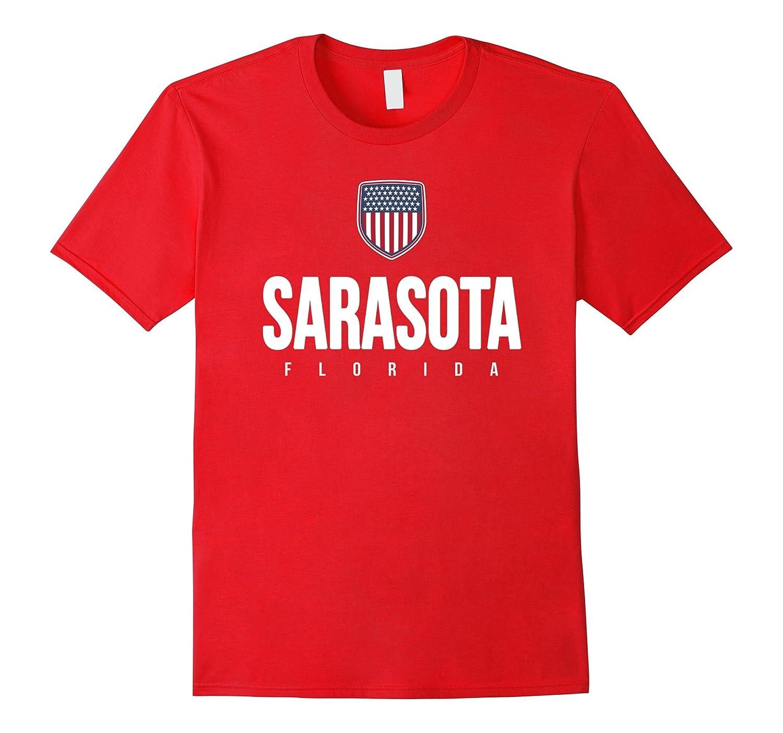 Sarasota Florida T-shirt City Hometown Travel Souvenir-CD
