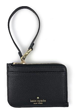 kate spade card holder wristlet  Kate Spade New York Small Jackson Soft Pebbled Leather Card ...